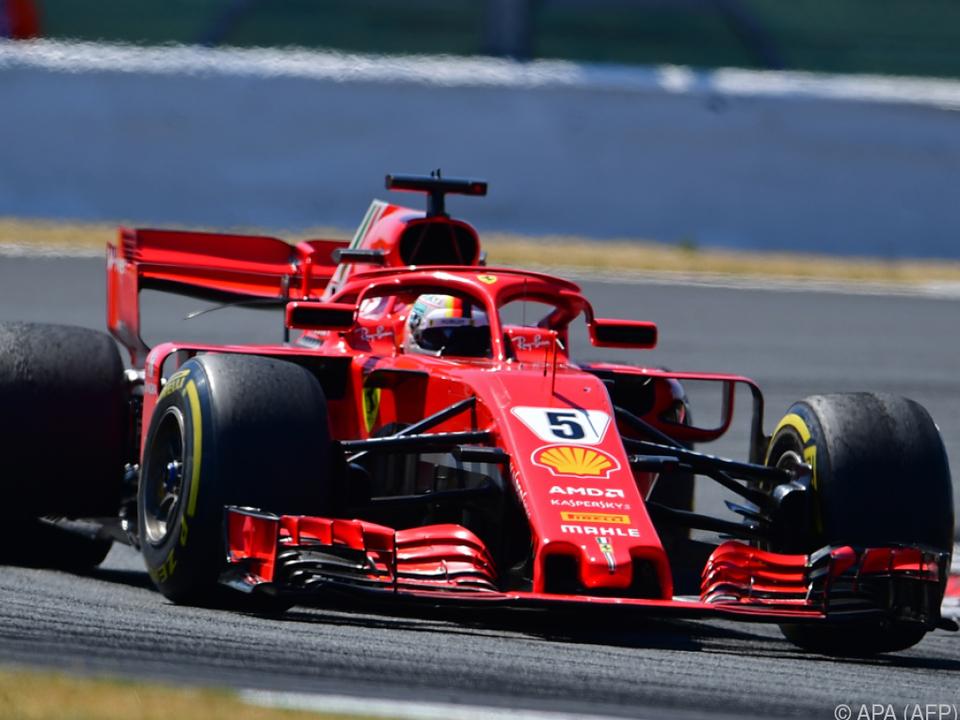 Sieg für Ferrari in Silverstone