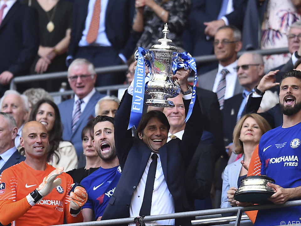 Sieg im FA-Cup war wohl Contes letztes Highlight bei Chelsea