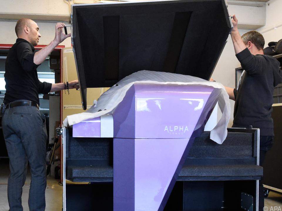 Das Piano erklang bei den  Prince-Gedenkkonzerten