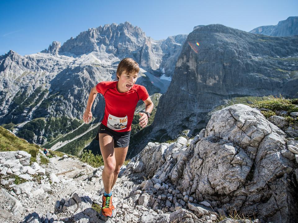 Suedtirol Drei Zinnen Alpine Run Lauf