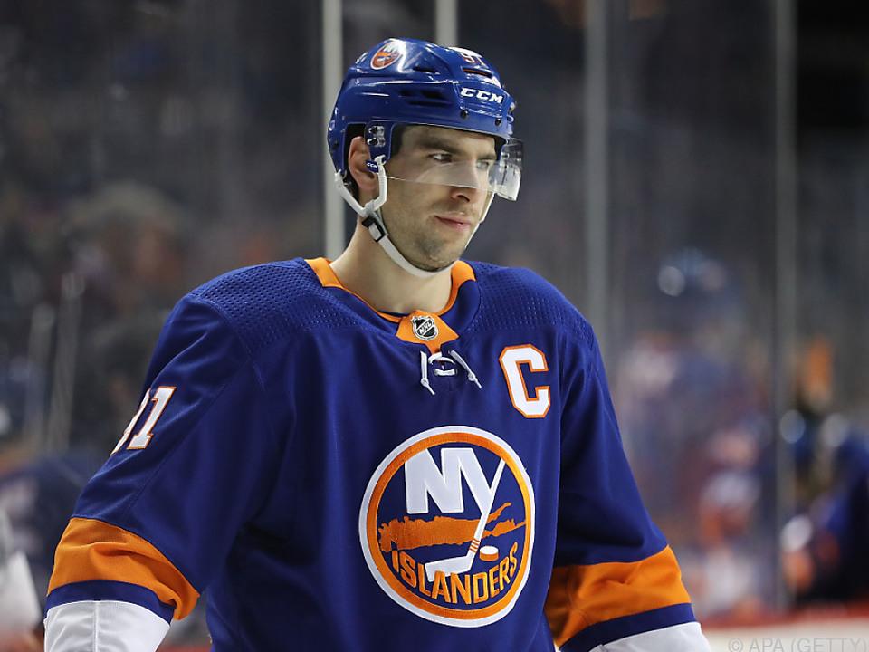 Tavares spielte neun Jahre lang für die New York Islanders