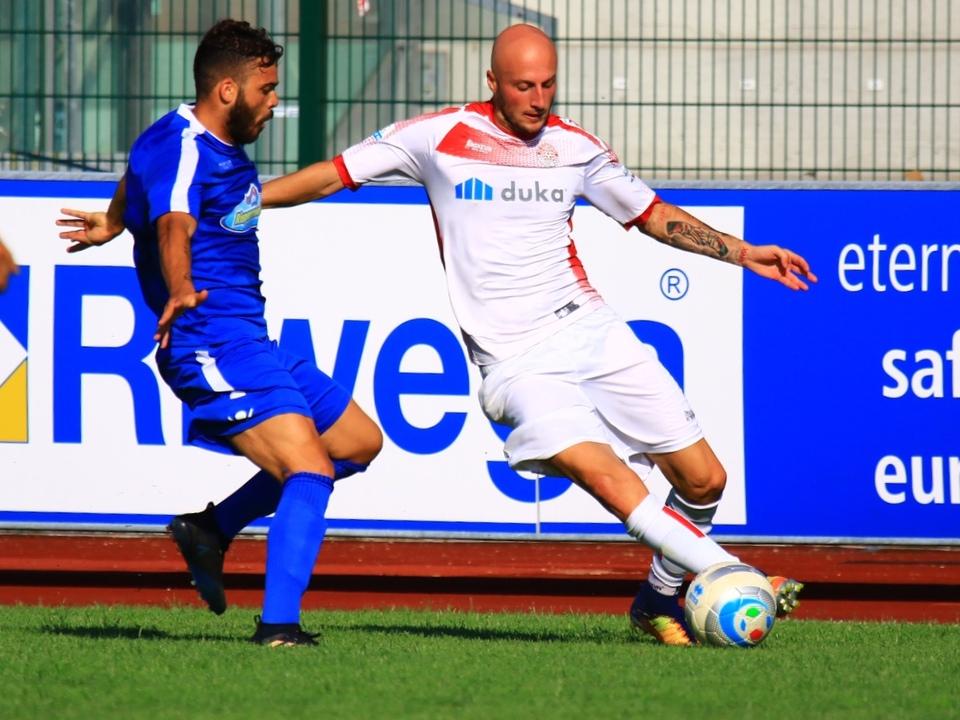 Tommaso Morosini in azione
