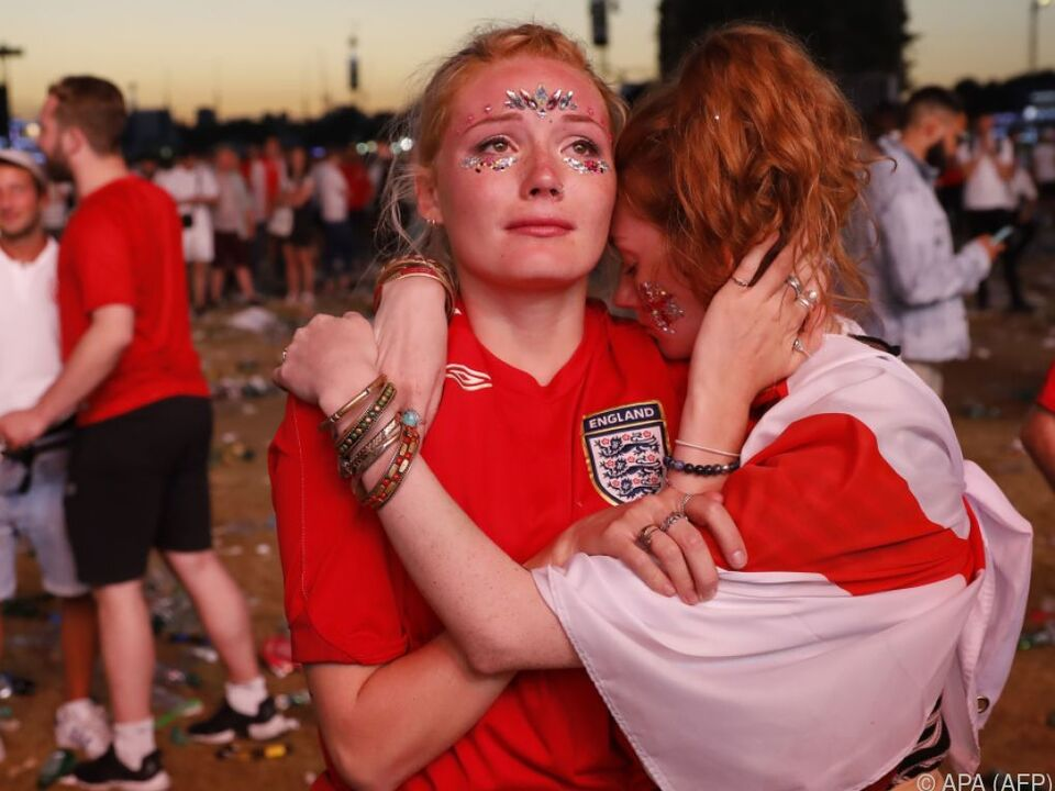 Trauernde Fans im Hyde Park in London