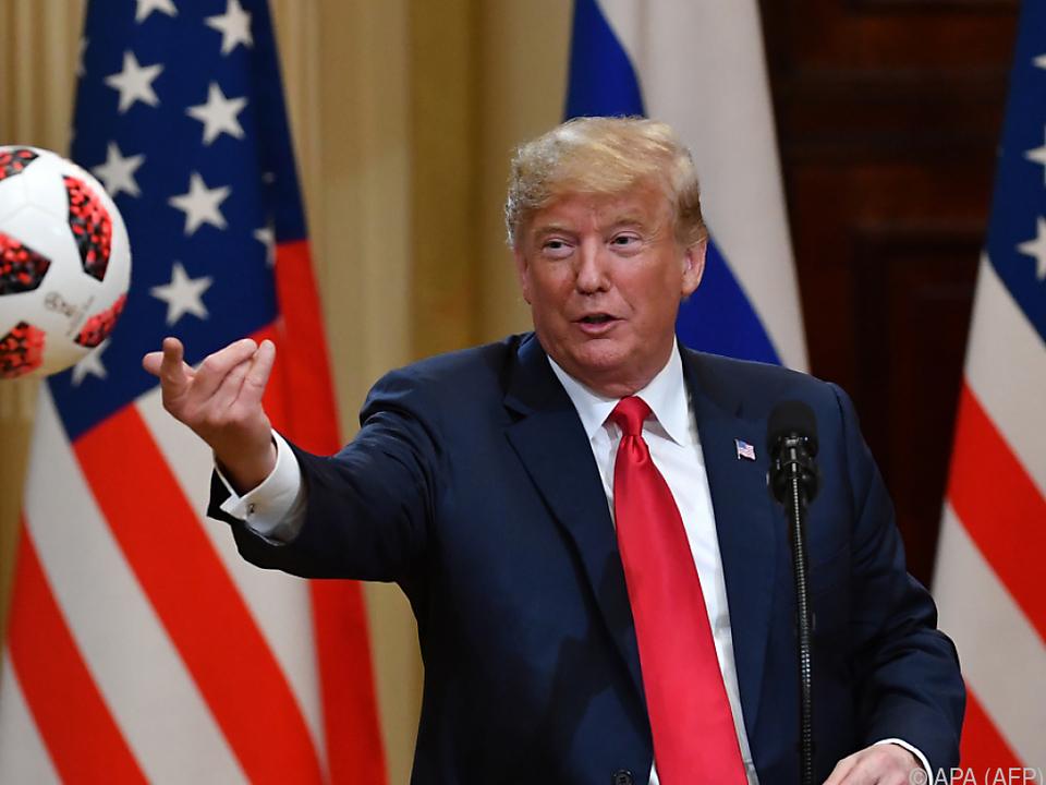 Trump spielte den Ball der Vorwürfe an kritische Medien weiter