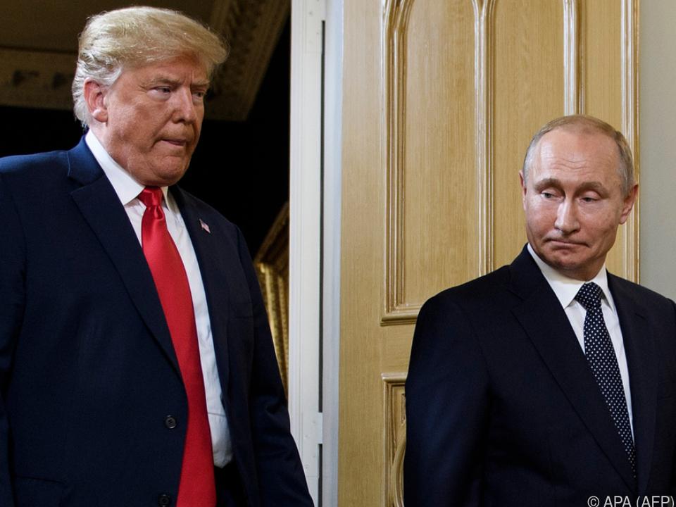 US-Präsident: Nun will Trump Putin sogar vor weiterer Einmischung gewarnt haben