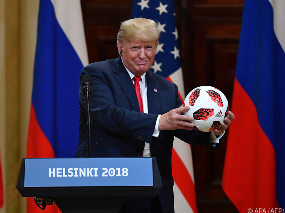 Trumps Auftritt in Helsinki wurde heftig kritisiert