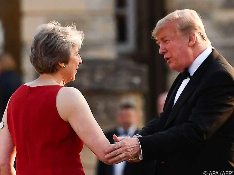Trumps Besuch in Großbritannien gefällt nicht jedem