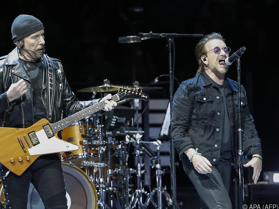 U2-Sänger Bono setzt sich für eine bessere Welt ein