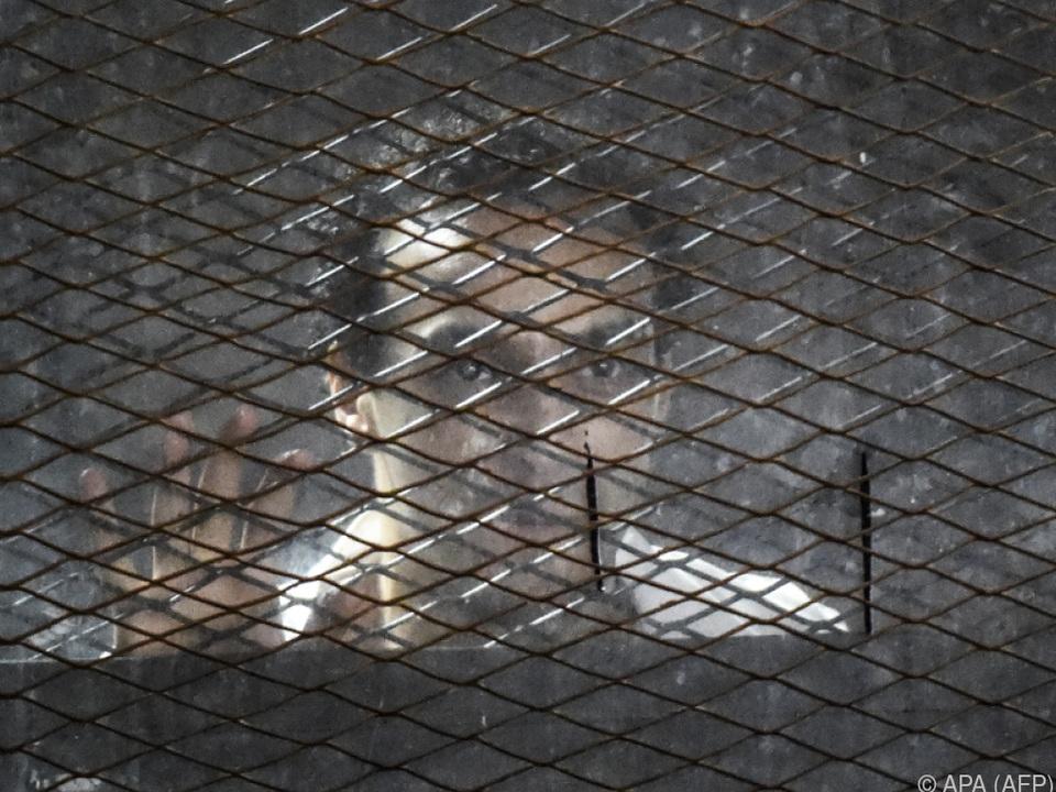 Unter den Angeklagten ist auch der Pressefotograf Mahmoud Abu Zeid