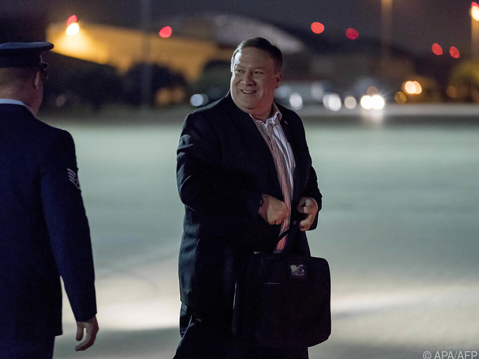 US-Außenminister Mike Pompeo reist nach Pjöngjang