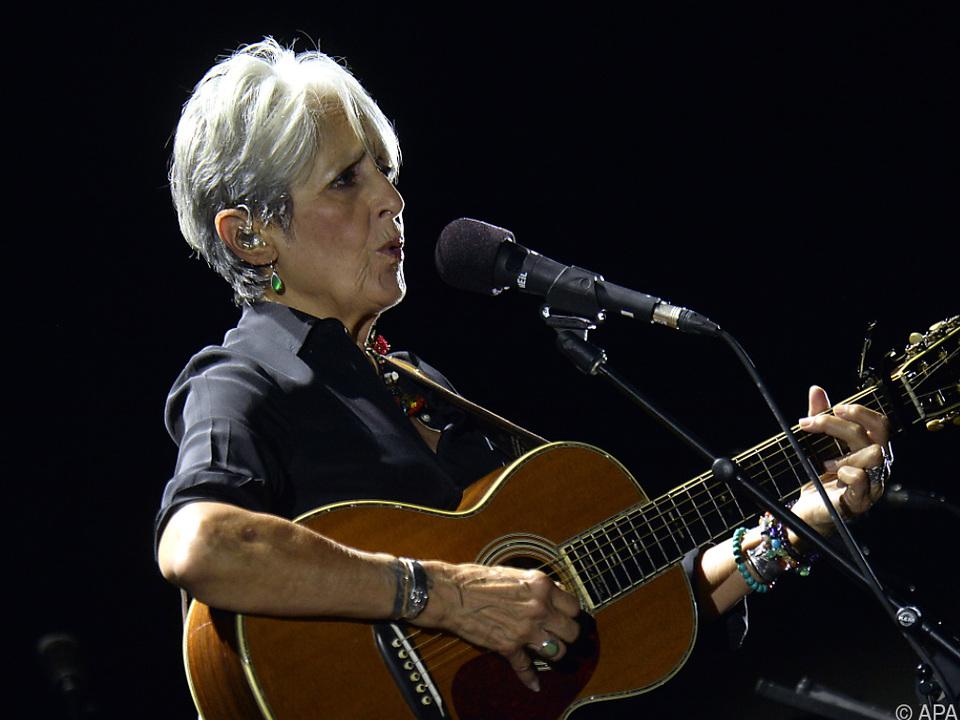 US-Folklegende Joan Baez auf Abschiedstour