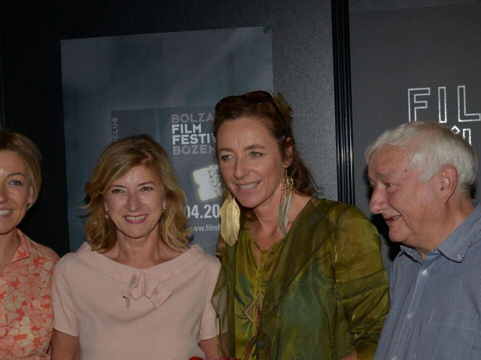 v.l. Antonella Arseni, Helene Christanell, Diana Iljine, Martin kaufmann.Filmfestival München 127