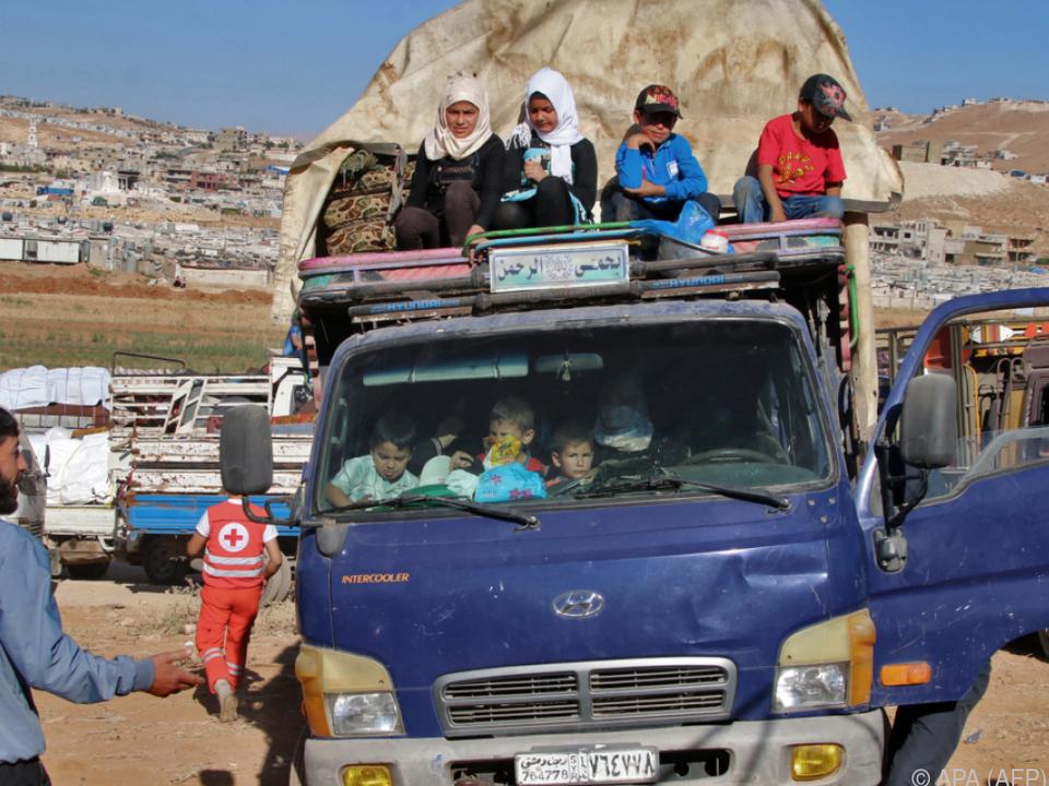 Viele Flüchtlinge sind wieder zurückgekehrt