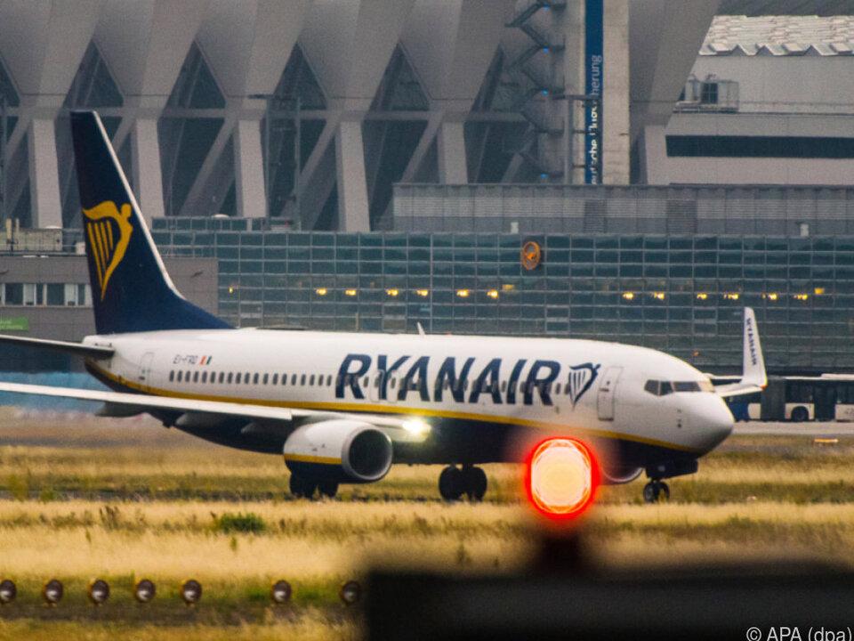 Viele Ryanair-Maschinen bleiben auf dem Boden