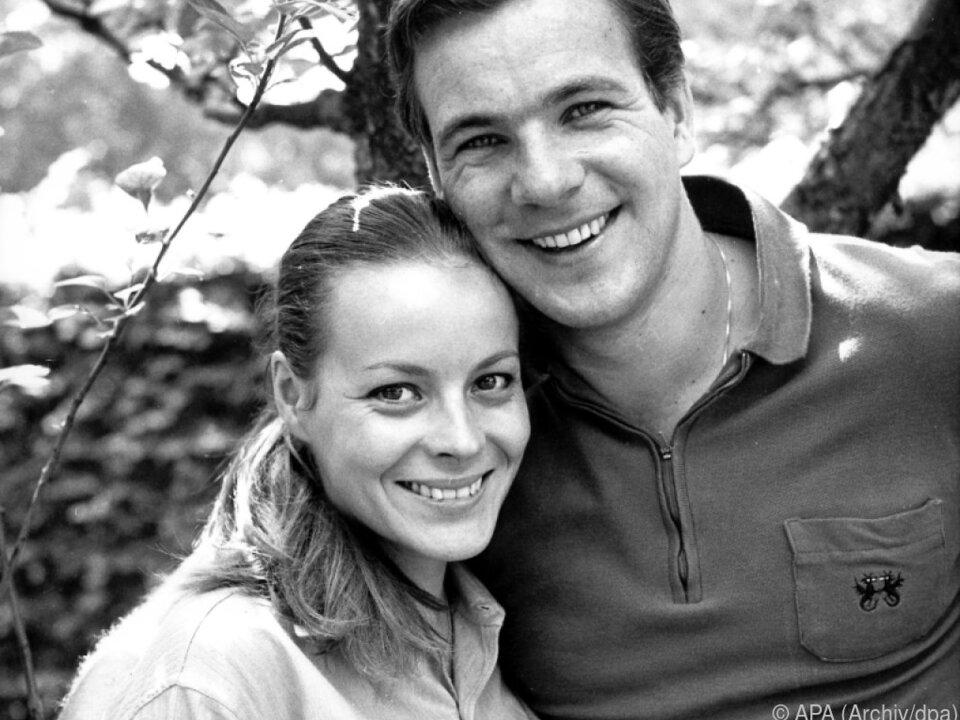 Von Friedl war in erster Ehe mit Götz George verheiratet