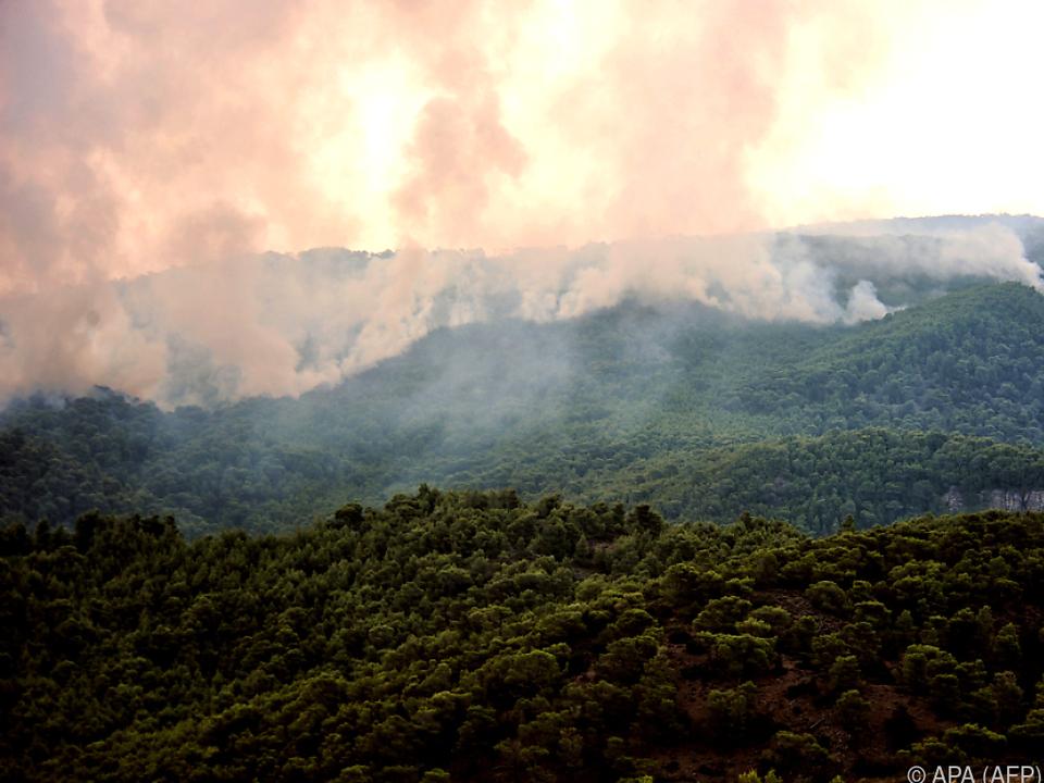 Waldbrandgefahr nur noch \