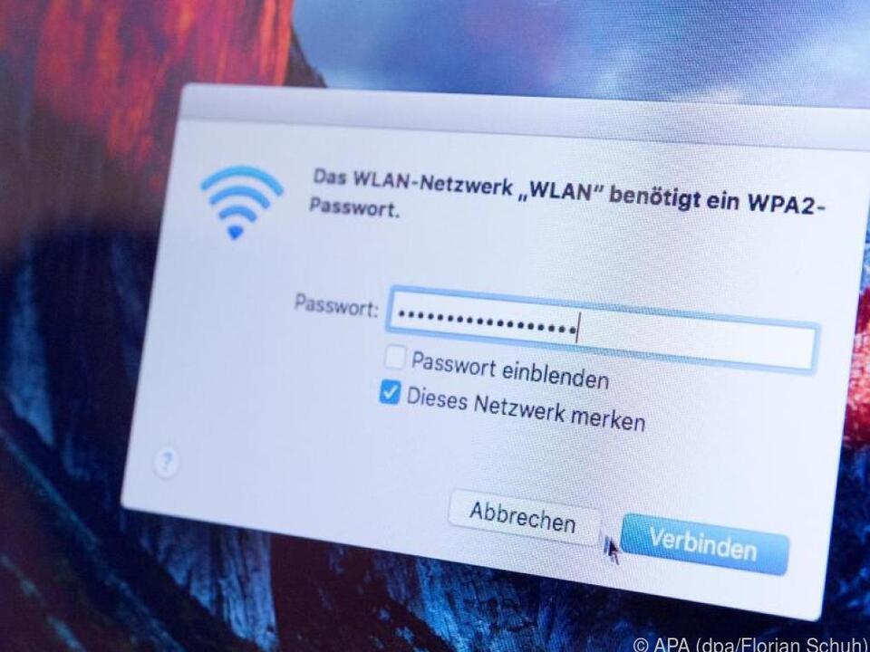 Wenn man weiß wie, kann man bei Windows 10 das WLAN-Passwort 0abrufen