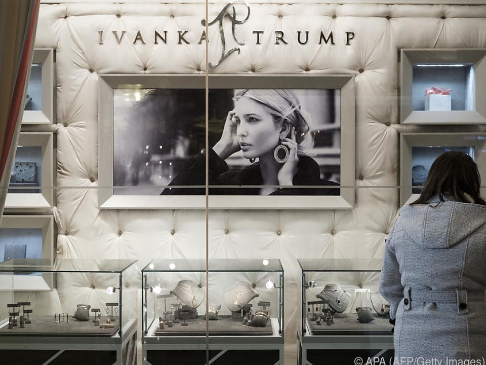 Abschied von der Modemarke Ivanka Trump