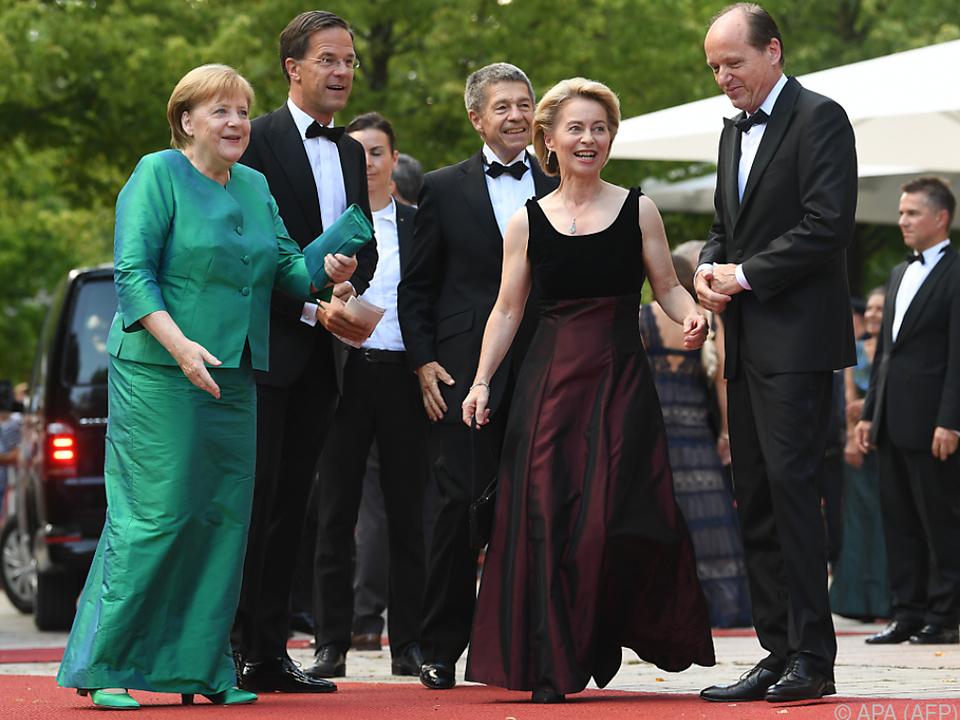 Wie immer auch viel Politprominenz in Bayreuth