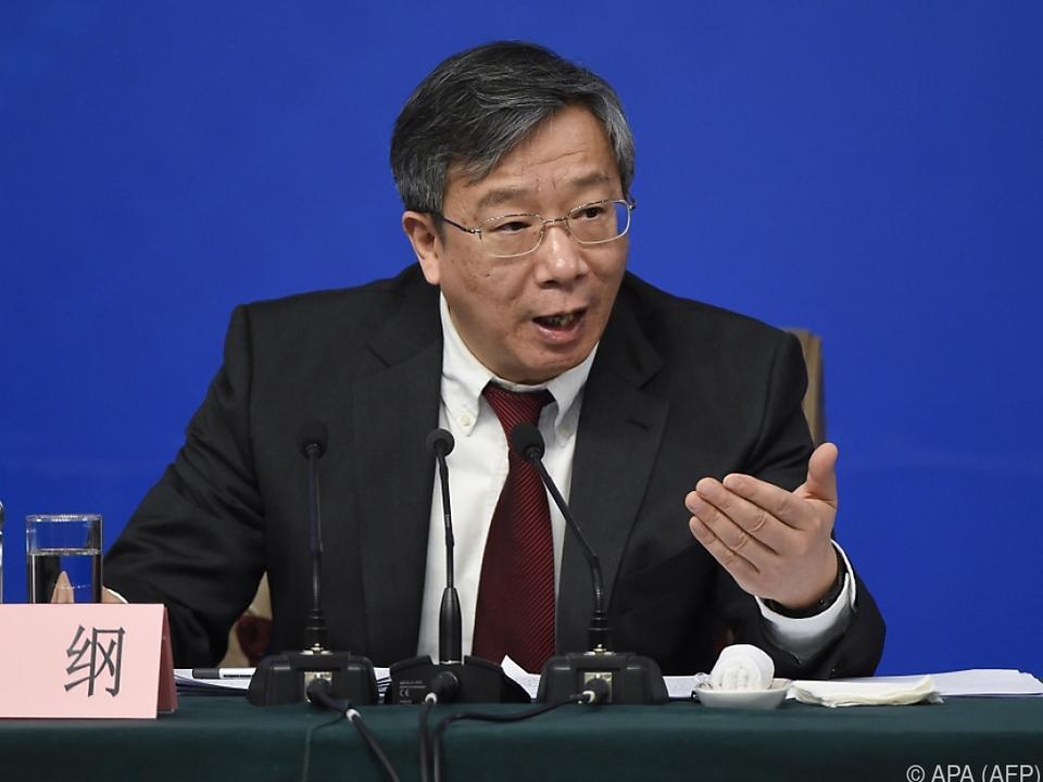 Yi Gang will den Yuan auf stabilem Niveau halten