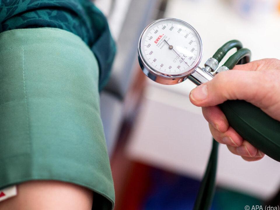 Zahlreiche Bluthochdruckpatienten betroffen