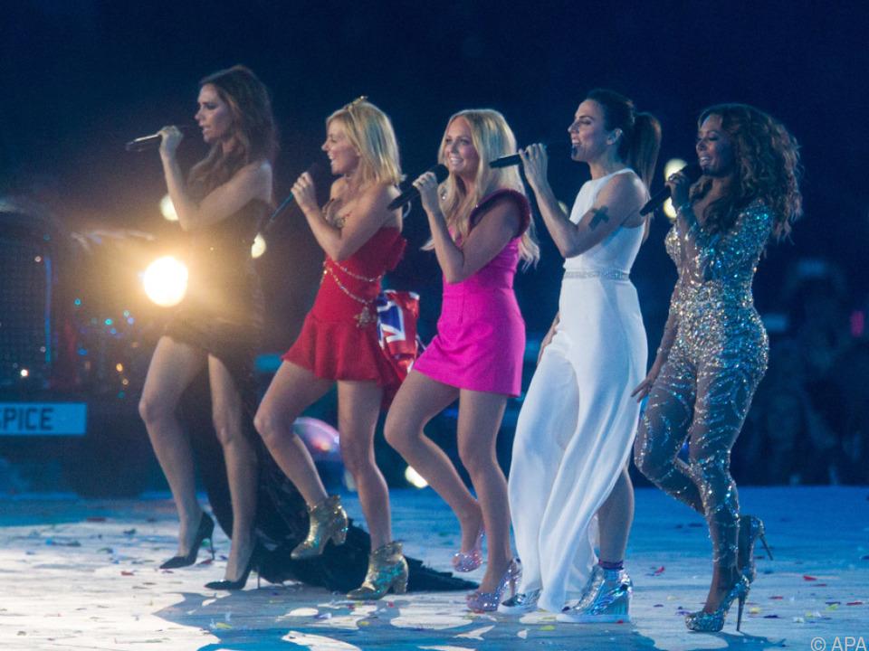 Zuletzt traten die Spice Girls bei Olympia in London gemeinsam auf