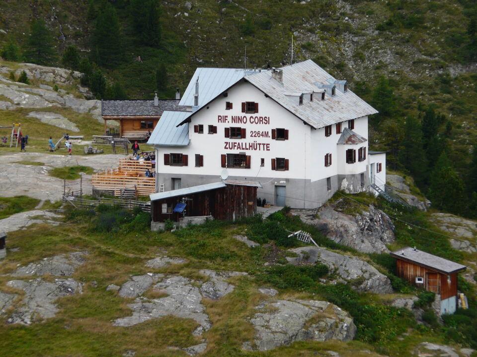 zufallhütte schutzhaus berg