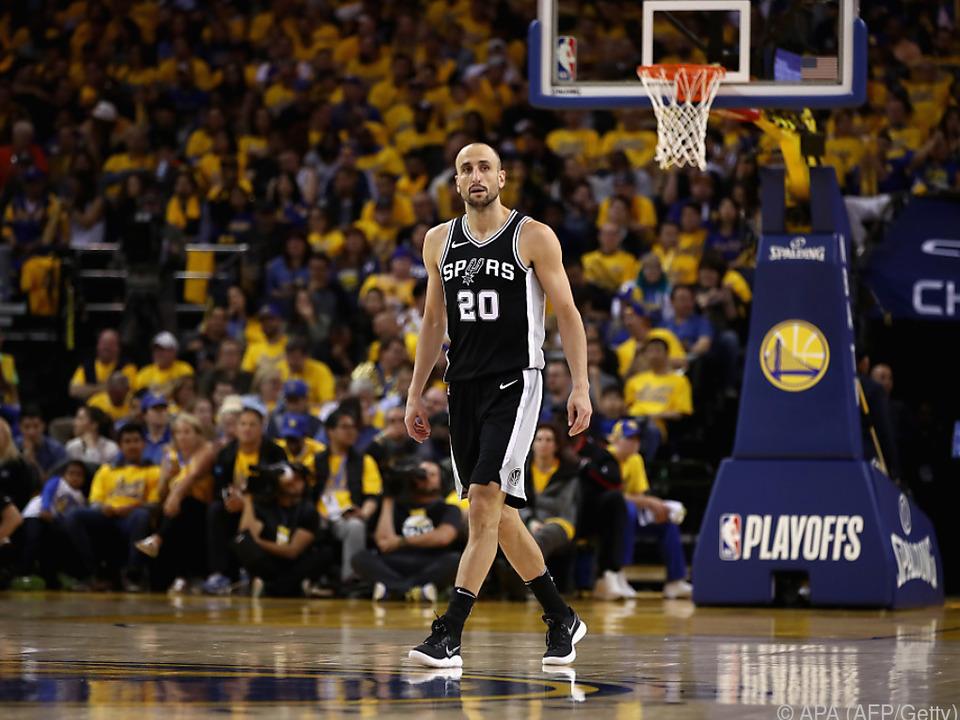 16 Jahre mit den Spurs sind genug, Ginobili hört auf