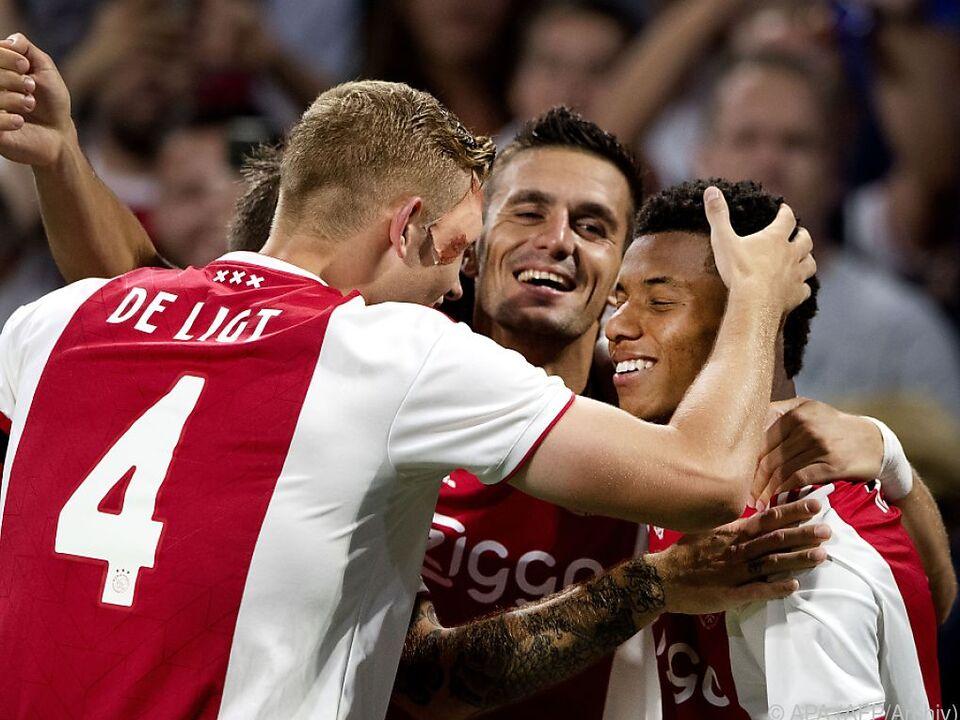 3:1-Heimsieg von Ajax Amsterdam gegen Kiew