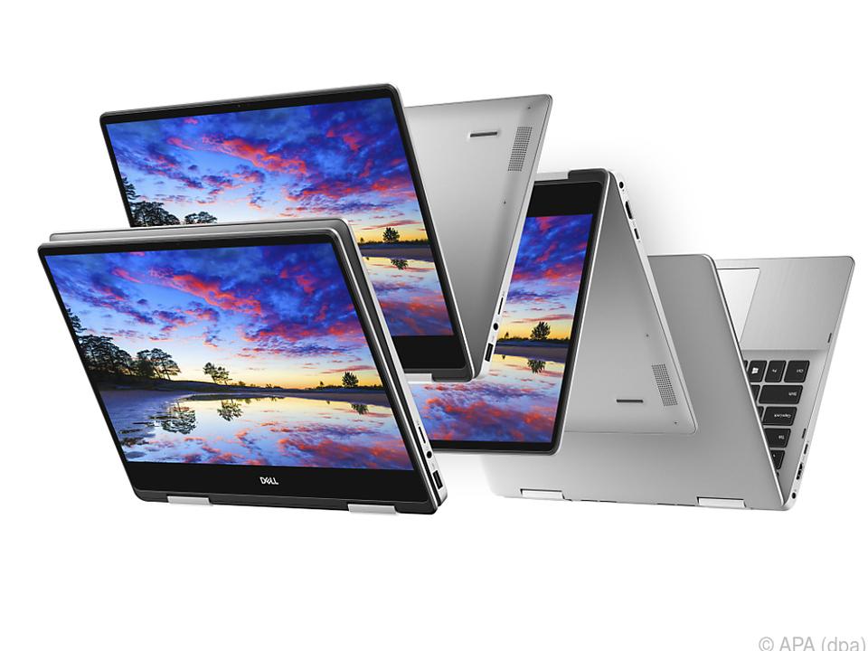 Dell bietet seine Convertibles in drei Größen an