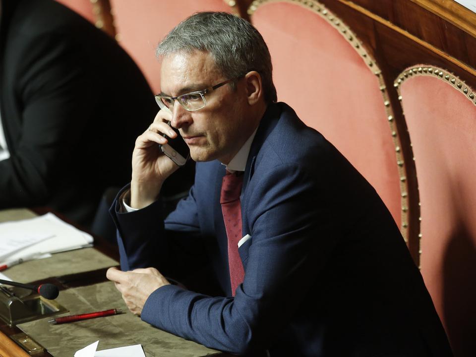 Senator Dieter Steger Senato Autonomie