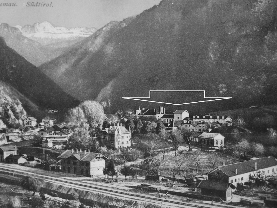 Konzentrationslager in der Ex-Brauereu Blumau-Vilpian (Archiv Karl Saxer)