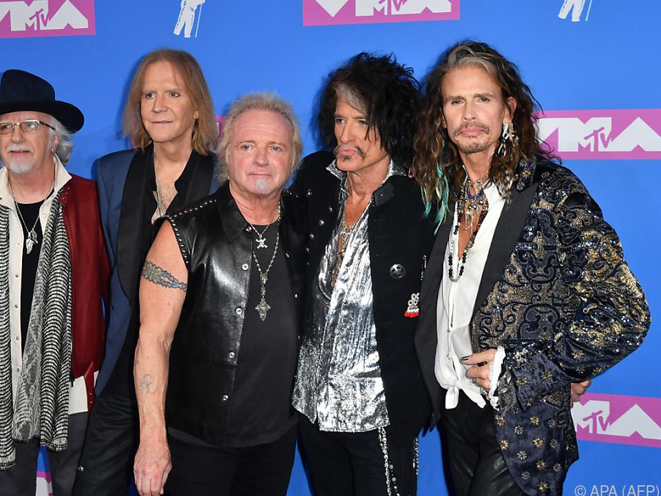 Aerosmith bei den MTV Video Music Awards 2018
