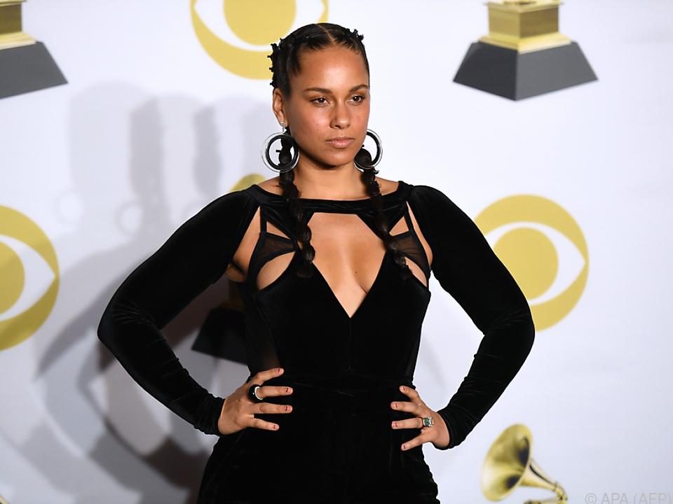 Alicia Keys ehrt Aretha Franklin