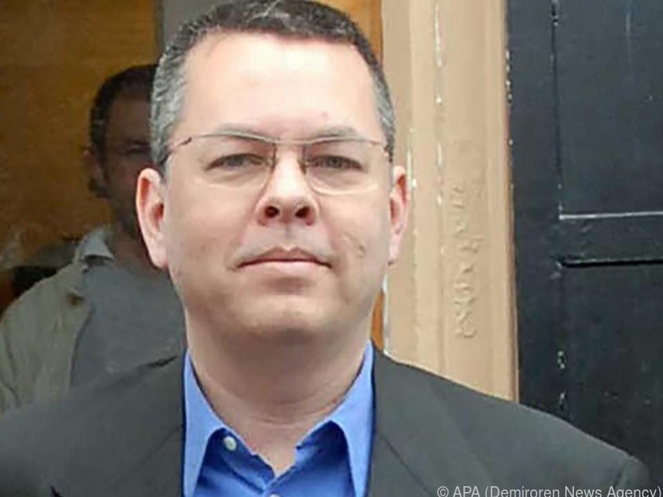 Andrew Brunson wurde 2016 in der Türkei inhaftiert