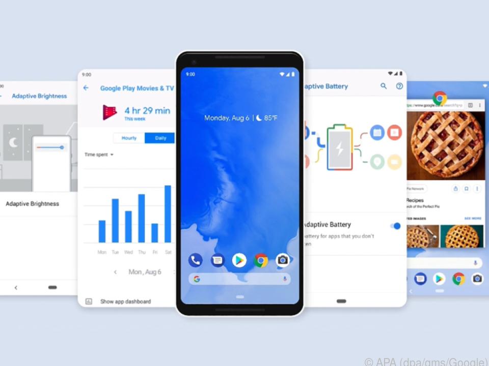 Android 9 gibt es vorerst nur für Nutzer von Googles Pixel-Smartphones