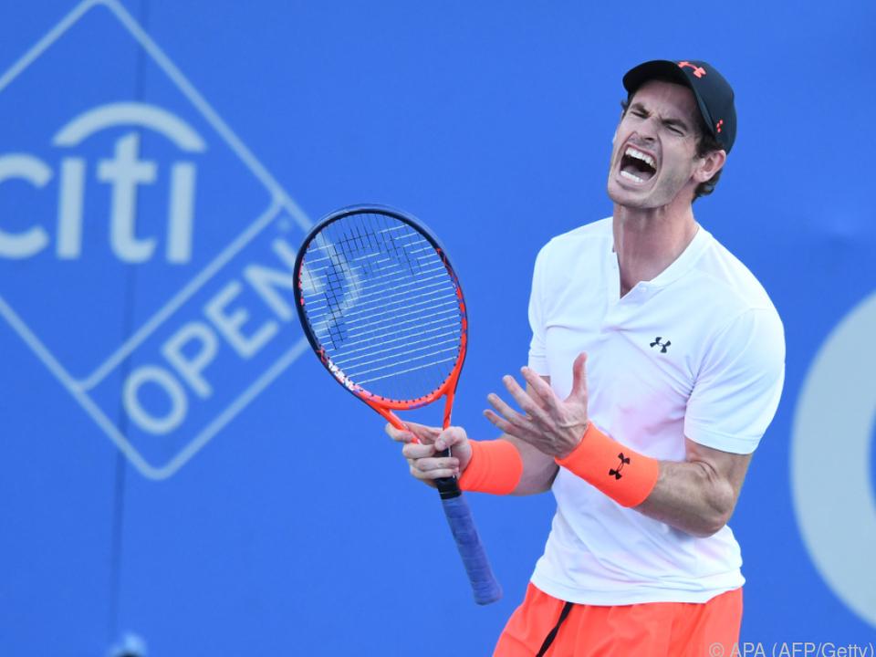 Andy Murray muss die nächste Pause einlegen