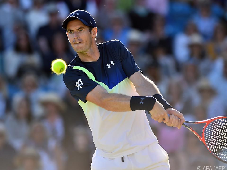 Andy Murray plagte sich lange Zeit mit Verletzungen