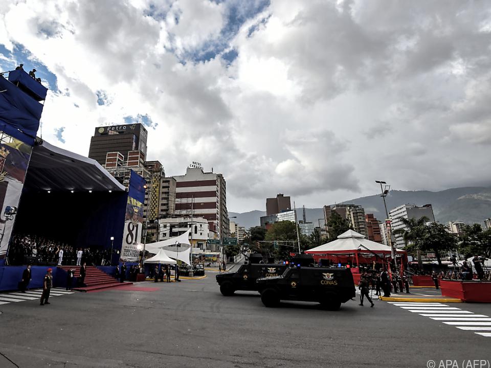 Angeblicher Attentatsversuch auf Venezuelas Präsidenten