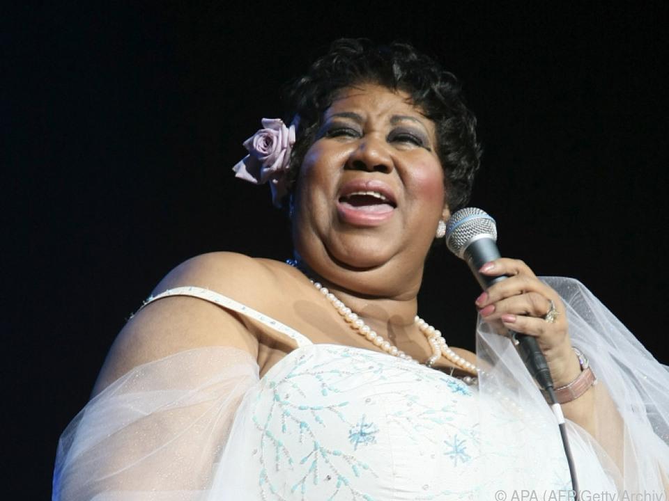 Aretha Franklin war eine Musik-Ikone
