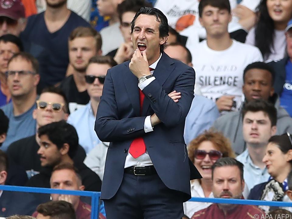 Arsenal-Coach Emery will endlich gewinnen