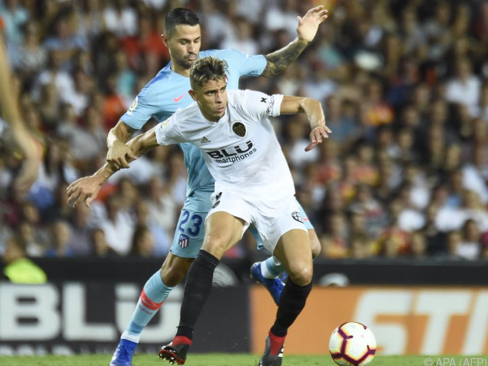 Atletico kam in Valencia nur zu einem 1:1