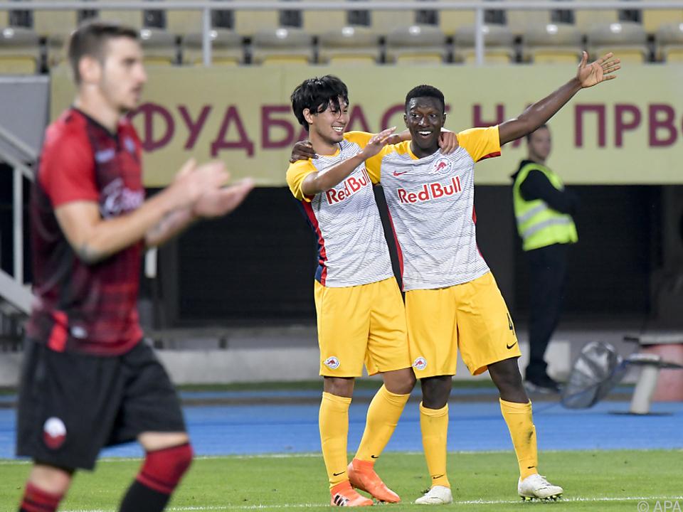 Auch im Rückspiel feierte Salzburg einen Sieg - wenn auch spät