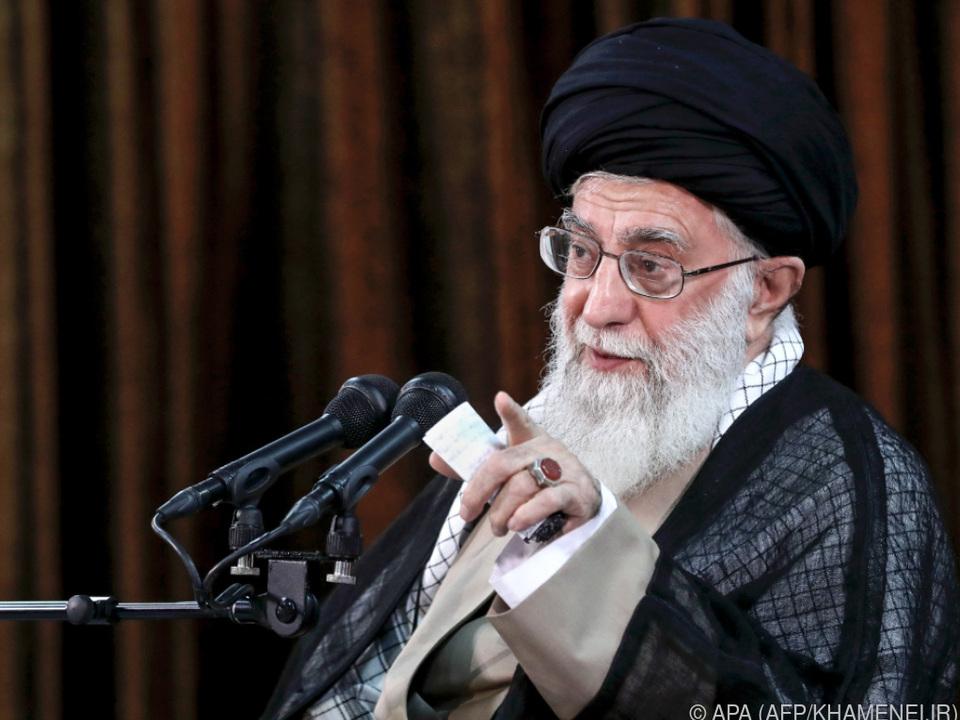 Aus Sicht Khameneis geben die USA \