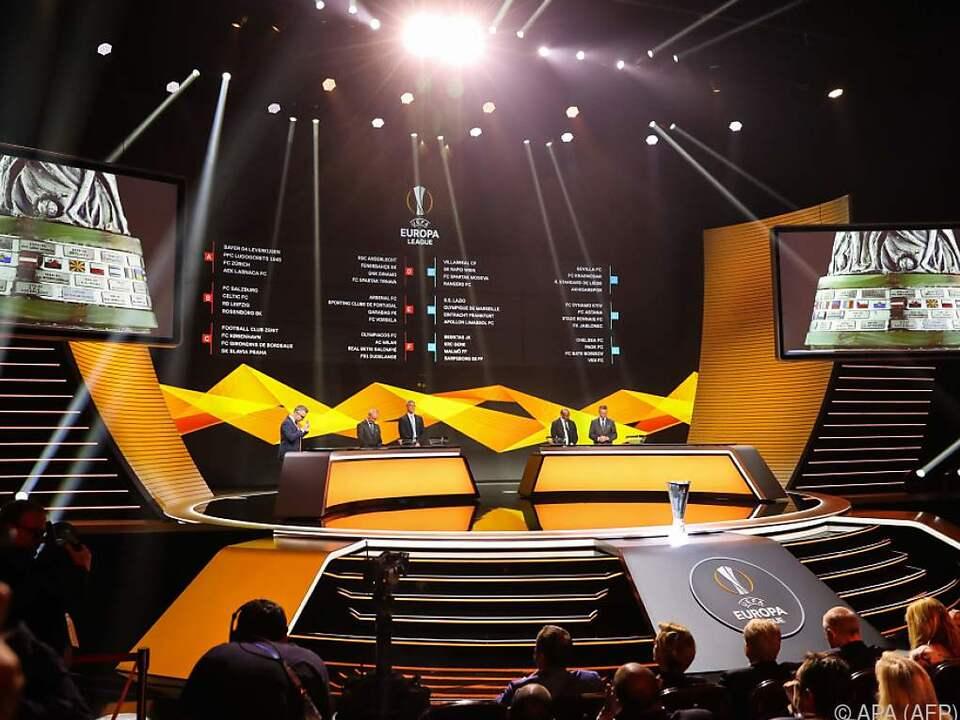 Auslosung für die Gruppenphase der Europa League in Monaco