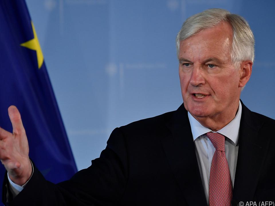 Barnier sieht beim Brexit nur Verlierer