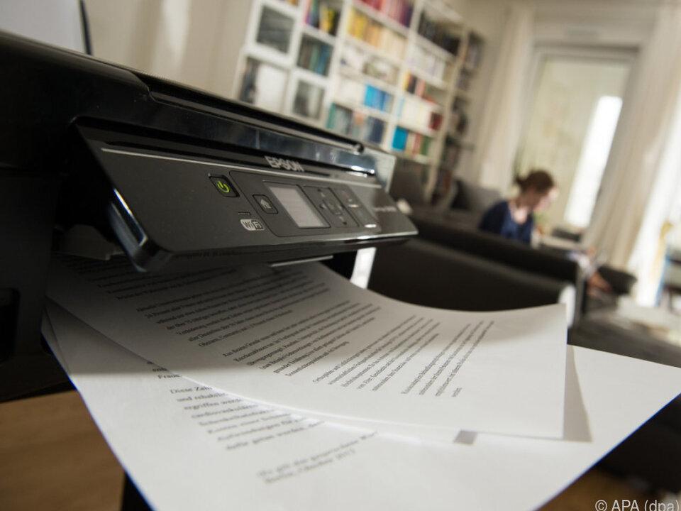 Beim Drucker hat man oft die Qual der Wahl