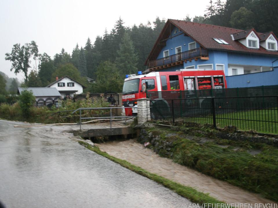 Betroffen waren vor allem die Bereiche Voitsberg und Graz-Umgebung