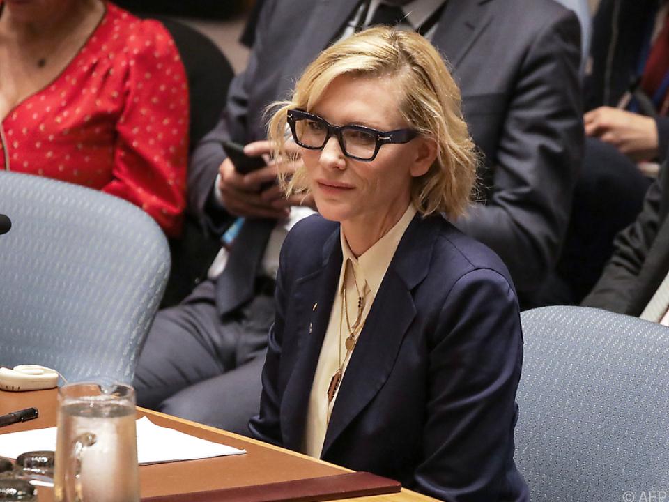 Blanchett setzt sich schon länger ehrenamtlich für die UNO ein