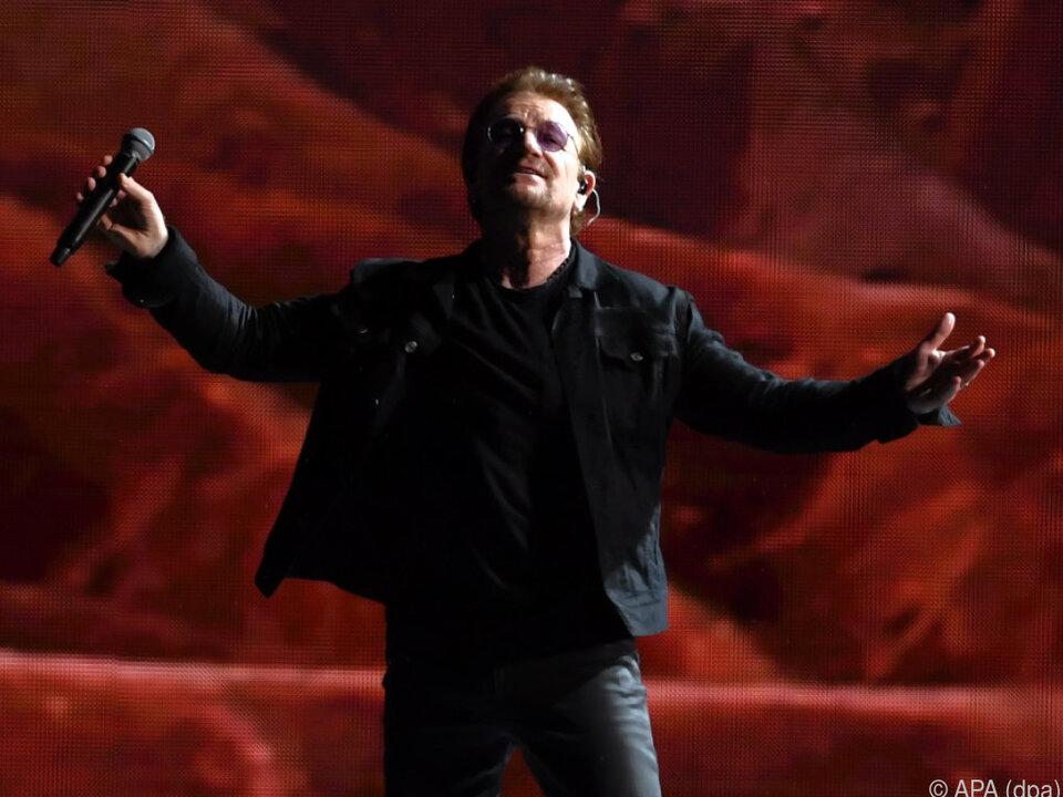 Bono hatte nur gute Worte für die deutsche Hauptstadt